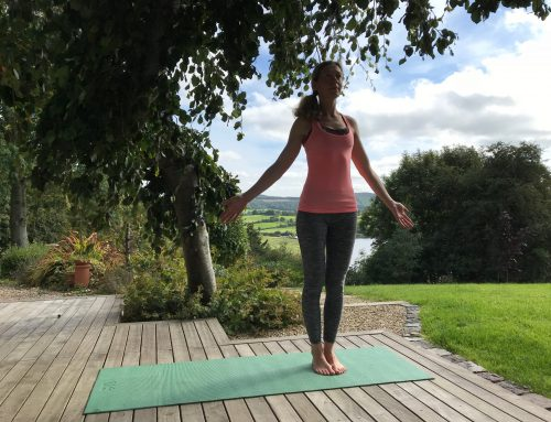 Pose of the week: stay grounded with mountain pose